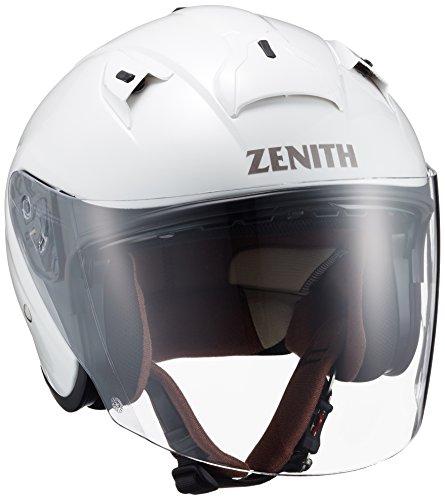 ヤマハ(YAMAHA) バイクヘルメット ジェット YJ-14 ZENITH サンバイザーモデル 90791-2278M パールホワイト M (頭囲 57cm~58cm)