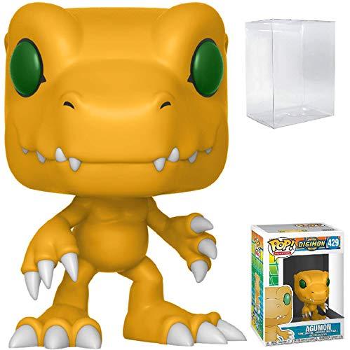 Funko Pop! Animation: Digimon - Agumon Vinyl Figure (Includes Compatible Pop Box Protector Case) image