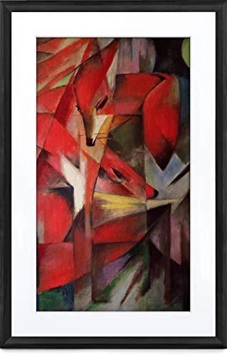 MEURAL Canvas II MC321BL Smart Art Digitale HD-Leinwand 41 x 61 cm (Schwarzer Rahmen, 21.5 Zoll, Gemälde und Fotografien werden in naturgetreuen Details wiedergegegeben, WLAN-Verbindung mit App)