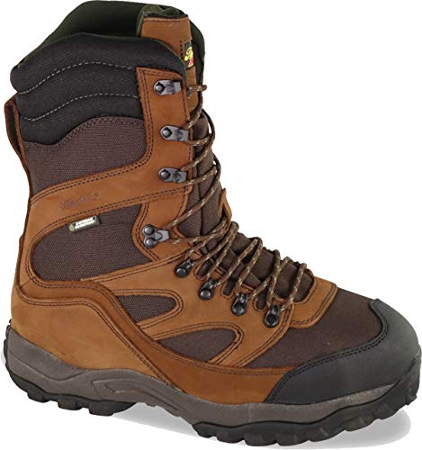 Thorogood 863-469 Men's Mountain Ridge 10'' Waterproof Hiking Boot, Maxi Brown - 11.5 W US