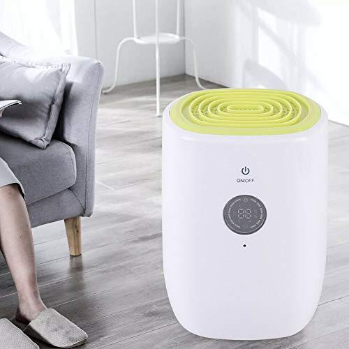 Deshumidificador eléctrico automático, silencioso, para armario, dormitorio, cuarto de baño, armario, caravana, oficina (800 ml)