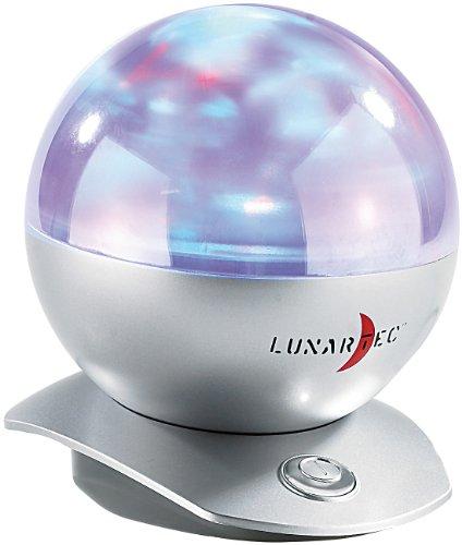 Lunartec Polarlichtprojektor: Laser-Kugel-Lampe mit Polarlicht-Effekten (LED Strahler Polarlicht)