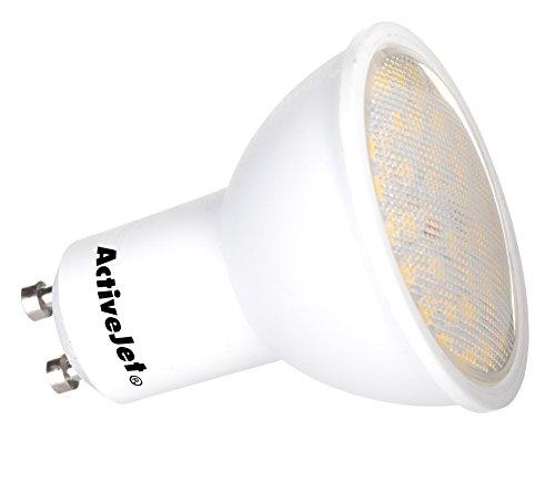 ActiveJet AJE-S3710W - Lámpara LED (Blanco cálido, Blanco, 7,5 kWh)