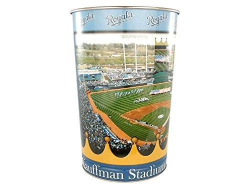 WinCraft MLB Kansas City Royals Tapered Wastebasket, 15
