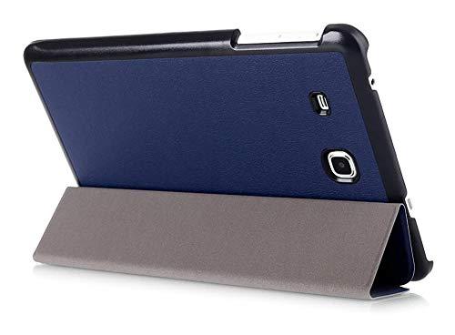 Kepuch Custer Funda para Samsung Galaxy Tab A 7.0 T280 T285,Slim Smart Cover Fundas Carcasa Case Protectora de PU-Cuero para Samsung Galaxy Tab A 7.0 T280 T285 - Azul