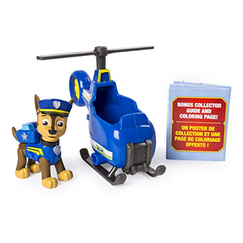 PAW PATROL 6046665 Chase Ultimate Rescue Mini-Fahrzeug-Spielzeug, Mehrfarbig