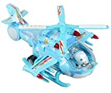 Qualimate Helicopter Toys for Kids Musical Aircraft Toy, Helicopter with Attractive Flashing Lights
