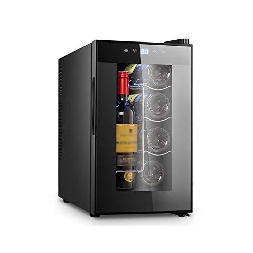 Nuitab Fits Wijnkoelkast, drankkoelkast, 8-18 °C, UV-bescherming, voor slaapkamer, woonkamer, keuken, kantoor, hotel