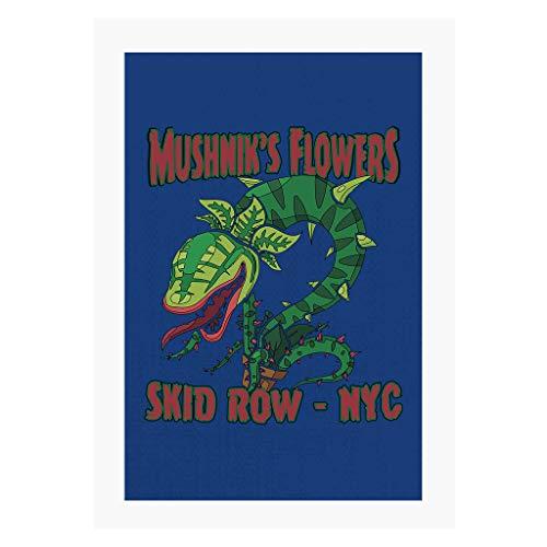 Cloud City 7 Mushniks Flowers Skid Row NYC Little Shop of Horrors A4 Print