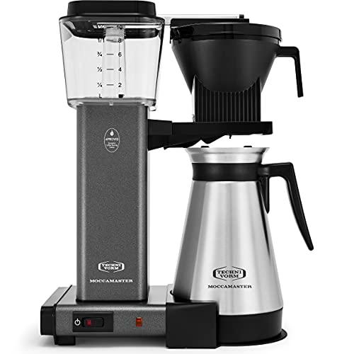 Technivorm Moccamaster KBGT Coffee Maker, 40 Ounce, Stone Grey
