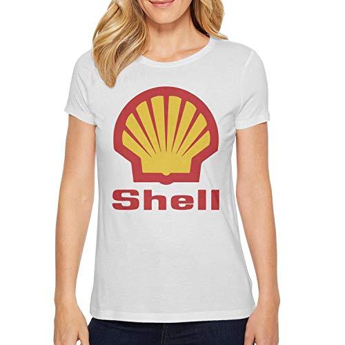 Student Short Sleeve T-Shirt Novelty Shell-Gasoline-Gas-Station-Logo- Design Customized Shirts