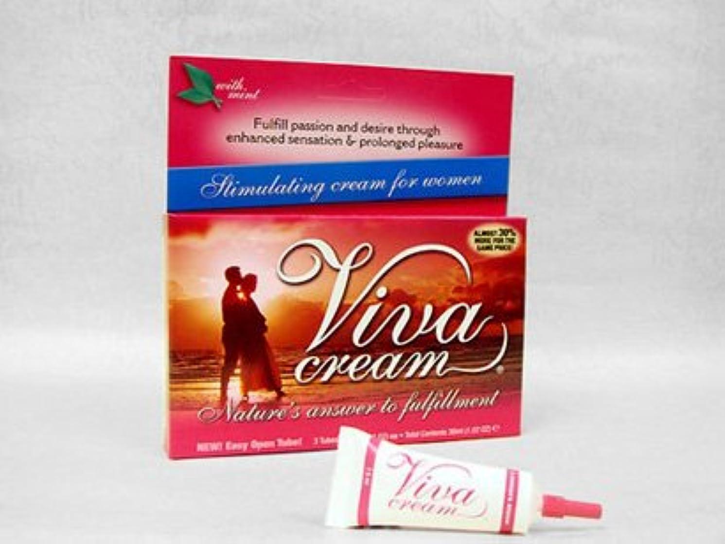 推測する保存華氏ビバクリーム Viva Cream (7.5ml) 6本セット