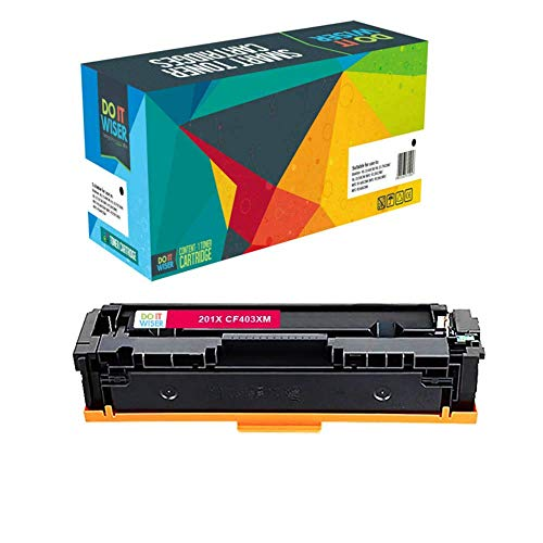 Do it Wiser Compatible Toner Cartridge for HP 201X HP CF400X CF403X CF402X CF401X for HP Color Laserjet Pro MFP M277dw M252dw MFP M277n M252n - High Yield 5 Pack Photo #8