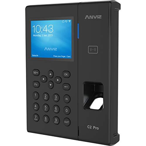 "Anviz C2 Pro - Lectores de control de acceso (TFT-LCD, 8,89 cm (3.5""), 10 - 12 V, -30 - 60 °C, 10 - 90%, CE, FCC)"