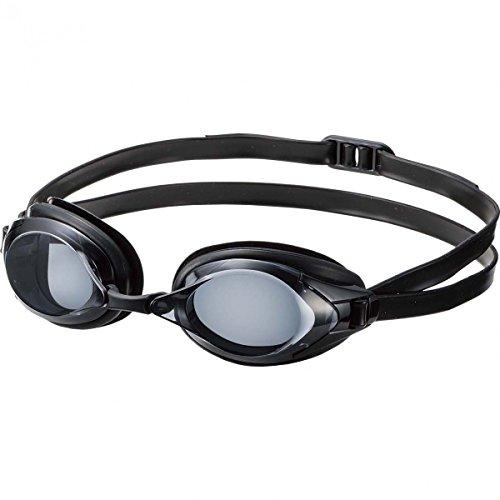 SWANS optische Schwimmbrille FO-2-OP schwarz - getönte Schwimmbrille für Kurzsichtige, Sehstärke:-4.5