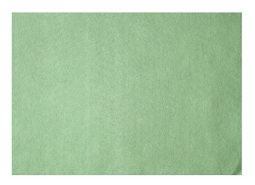 Platino in feltro blaha in feltro 20 x 30 cm, spessore 0,9 mm 166 G/m2 verde pastello (0034)