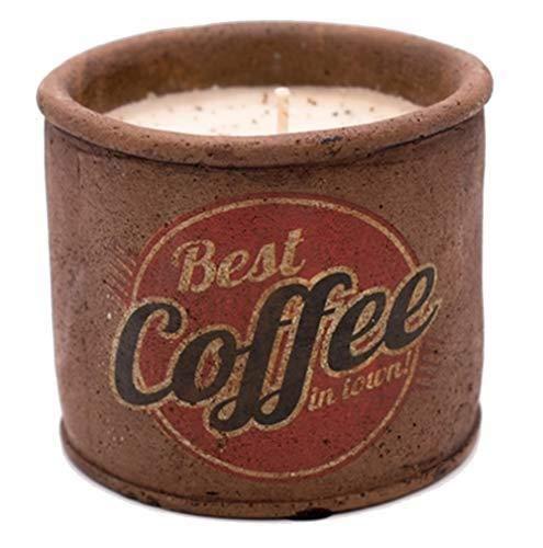 Swan Creek Candle Nostalgic Highway Small Round Pot Roasted Espresso