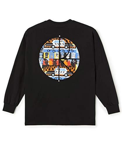Polar Skate & Co. Langarmshirt LIMITED EDITION Longsleeve schwarz Neuheit 2021, Schwarz Large