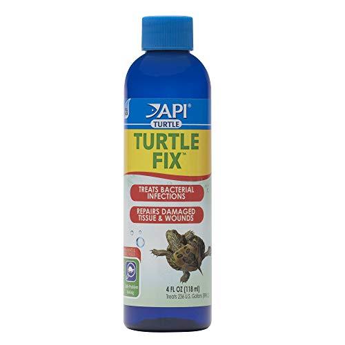 API TURTLE FIX Antibacterial Turtle Remedy 4-Ounce Bottle