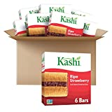 Kashi, Soft-Baked Breakfast Bars, RipeStrawberry, Non-GMO Project Verified, 7.2 oz, 6 Count(Pack...