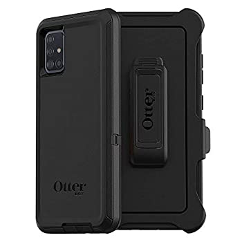 OtterBox DEFENDER SERIES SCREENLESS EDITION Case for Samsung Galaxy A51  Non 5G Version  - BLACK