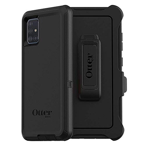 OtterBox DEFENDER SERIES SCREENLESS EDITION Case for Samsung Galaxy A51 (Non 5G Version) - BLACK