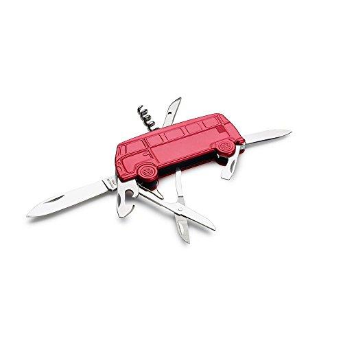 Volkswagen 231093889Hat Taschenmesser, T1Bus, rot