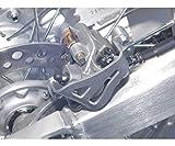 Works Connection Caliper Guard Rear for Kawasaki 125 250 300 500