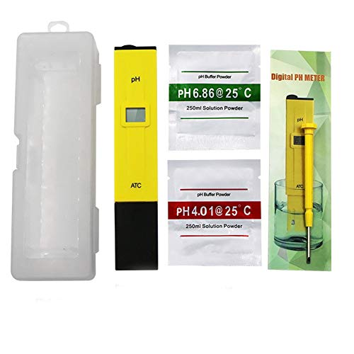 Fxhan Digital Electric PH meter LCD Test Pen Pocket Tool voor Hydroponics Aquarium Water