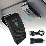 ワイヤレスフォン ハンズフリーフォン 車載 ハンズフリー サンバイザー Bluetooth5.0 技適認証済み 日本語 振動検知 K-BT010