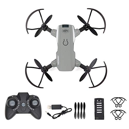 Techway Mini RC Drone for Kids and Beginners Small Quadcopter with Speed Adjustment Remote Control Toys Gifts for Boys Girls with Headless Mode 3D Flips 2 Batteries