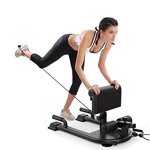 ZMJ Sissy Squat Bench Leg Extension Leg Curl Curl Machine Adjustable Exercise Equipment for Sissy Squat Push-up Rope Exercise Home Gym Fitness Equipment
