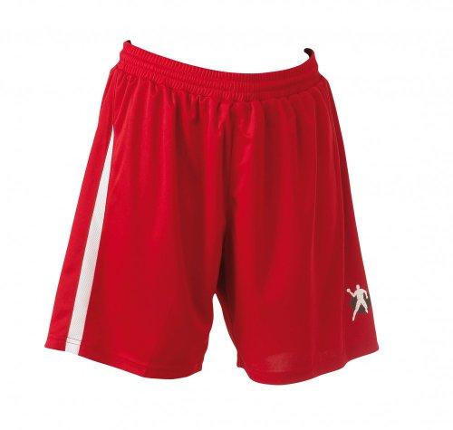 Kempa Damen Shorts Base Women, rot/weiß, S