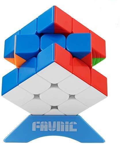 XMD 磁石キューブ 魔方 立体パズル【磁石内蔵】 ポップ防止 マグネットパズル マグネットブロック Magnetic Magic Cube (3x3)