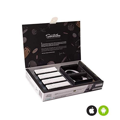 Redison | Senstroke | Pack Standard 4 capteurs, Batterie Electronique Transportable pour Débutants et Professionnels