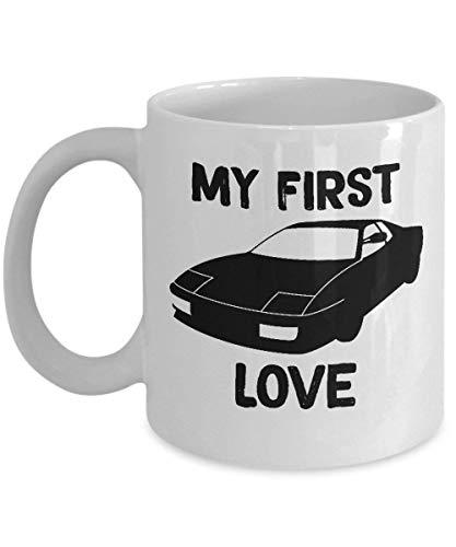N\A Taza Ferrari Testarossa - Taza de cerámica para café y té, Fabricada en los Estados Unidos -