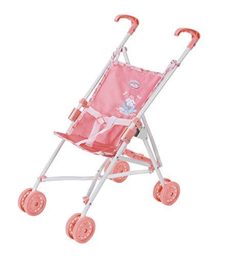 Zapf Creation 703915 Baby Annabell Active Stroller Puppenwagen leicht & wendig und zusammenklappbar, Griffhöhe 53 cm, geeignet für Puppen in fast allen Größen