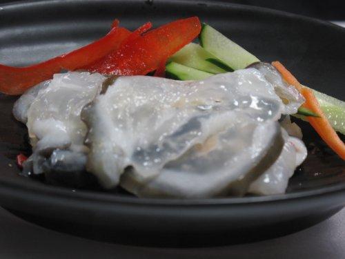 東京都知事賞受賞 ひず (氷頭) とは鮭の軟骨の酢漬 500g