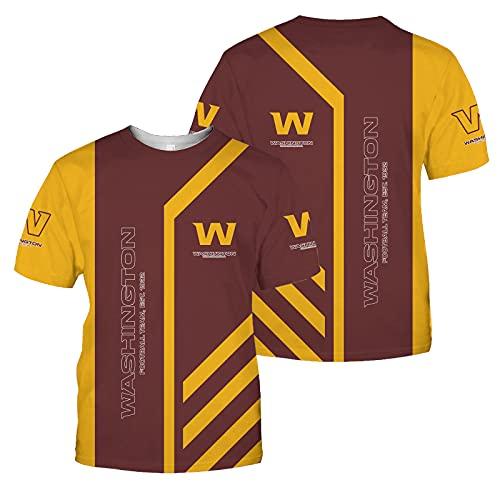2021 Camiseta Football Team Tampa Bay Buccaneers Tennessee Titans Para Hombre, Camiseta De Rugby Camiseta De Manga Corta, Transpirable Y Que Absorbe El Sudor, Lavable A Máquina,Marrón,XXXXXL