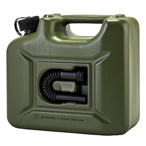 [ ヒューナースドルフ ] Hunersdorff 燃料タンク ポリタンク フューエルカンプロ 10L ウォータータンク 801000 オリーブ Olive FUEL CAN PRO 燃料 灯油 タンク キャニスター アウトドア キャンプ [並行輸入品]