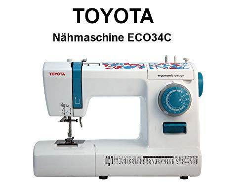 Toyota ECO34C Vrije arm naaimachine met 34 programma's