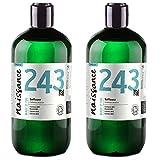 Naissance Cártamo BIO - Aceite Vegetal Prensado en Frío 100% Puro - Certificado Ecológico- 1 Litro (2 x500ml)