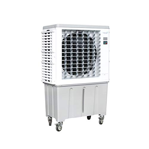 CAJUN KOOLING CK4500-S Evaporative Air Cooler High Power 4500-S CFM with 1200 Square Foot Cooling Area