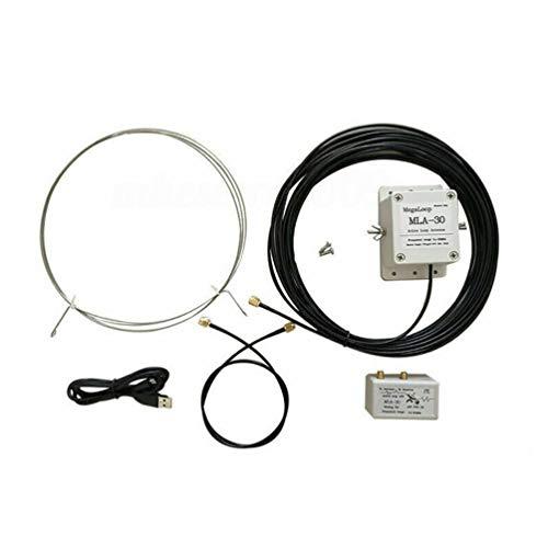 VOSAREA ringwellenantenne Kunststoff mla-30 geräuscharm aktiv empfangende ringantenne kurzwellenantenne mittelwellenantenne für dachhaus