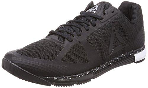 Reebok Speed TR, Zapatillas de Deporte para Hombre, Negro (Black/White 000), 39 EU
