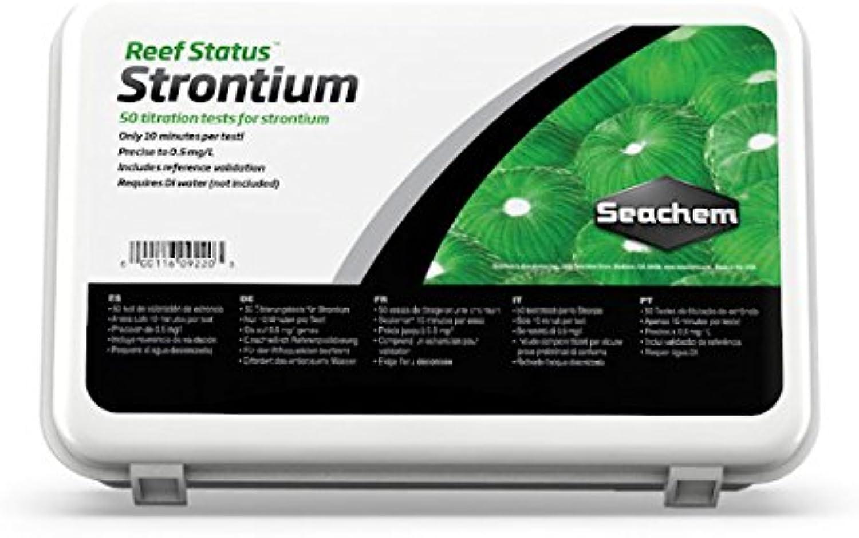Seachem Reef Status Strontium Test Kit