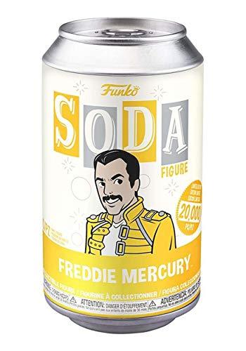Funko- Vinyl Soda: Queen-Freddie Mercury W/(GL) Chase Juguete Coleccionable, Multicolor, Estándar (50916)