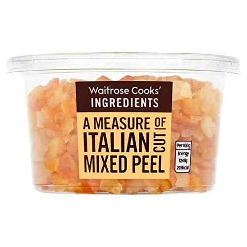 Waitrose Italian Cut Mixed Candied Peel - 200g (0.44 lbs)