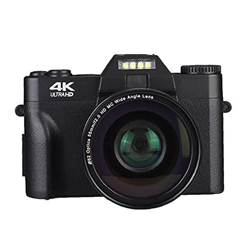 RRunzfon Cámara de vídeo Digital Vlogging videocámara Digital para Principiantes 48,0 Fotografía...
