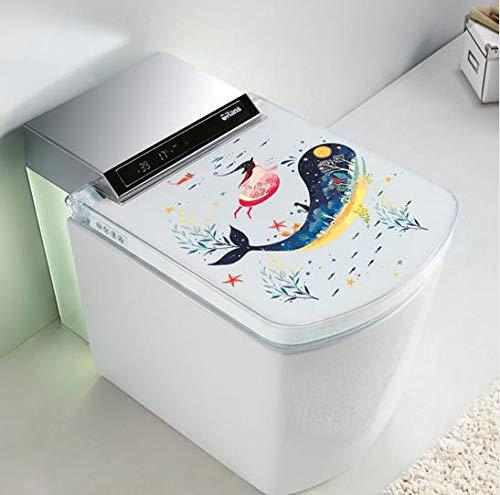 QTTZWZQ Onderwater Vis Muurstickers Kunst Badkamer Raam Koelkast Toilet Badkamer Decoratie Behang